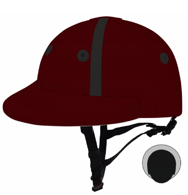 English Peak Style Helmet Polo. (x 1) (81864688-tp5cpt1j)